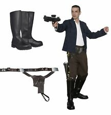 Star Wars Han Solo Costume Bundle, Belt + Boots Empire Film Set Quality from USA