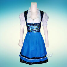 DIRNDL Trachten German Oktoberfest DRESS 3-Piece For Austrian Waitress Maid
