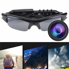 New TF DVR 640x480 Video Audio Recorder Sunglasses Hidden Camera Eyewear Lot JK~