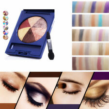 6 Color Pro Matte Eyeshadow Makeup Eye Shadow Palette Cosmetic Shimmer Set