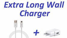 RAPID WALL CHARGER + 6FT EXTRA LONG CABLE FOR SAMSUNG GALAXY S3 S4 S5 S6 S7 EDGE