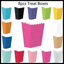 8 Treat Lolly Boxes Treat Box Birthday Party Favours Wedding Movie Popcorn Box