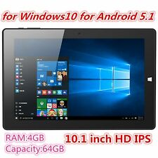 10.1 Inches 64GB Quad Core Tablet Personal Computer FullHD Laptop 4GB Ram JC~W