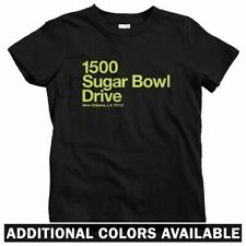 New Orleans Football Stadium Kids T-shirt - Baby Toddler Youth Tee - Saints Gift
