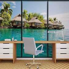 Beach Tropical WALL MURAL PHOTO WALLPAPER (497DK)