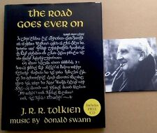 The Road Goes Ever On. 2002, with CD. J.R.R Tolkien & Donald Swann. Collectible!