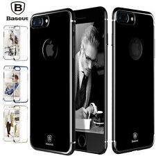 iPhone 7/7 Plus Ultra Slim Crystal Clear Hybrid Hard Bumper Case Cover for Apple