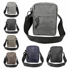 Mens Gents Waterproof Shoulder Bag Cross Body Messenger Travel Bag Satchel