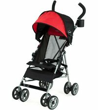 Kolcraft Cloud Umbrella Stroller, Scarlet Red , Lightweight with Cup Holder