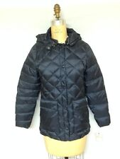 Woolrich Womens Hooded Packable Puffer 15198 Navy New With Tags