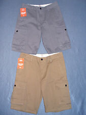 NWT Mens Dockers Flat Front Cargo Shorts - U Pick Size + Color