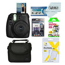 Fujifilm Instax Mini 8 Instant Film Camera and Twin Pack Of Film with Bundle