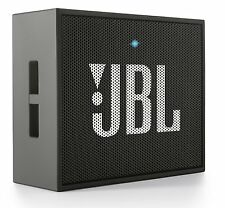 JBL Go Ultra Portable Rechargeable Bluetooth Speaker Aux-In Compatible Black New