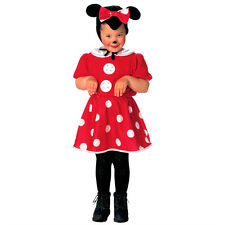 Minnie Mouse Costume Childrens Fancy Dress Little Girl Outfit Disney
