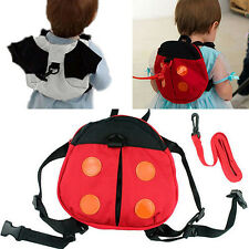 New Cute Baby Kid Toddler Keeper Walking Safety Harness Backpack Leash Strap Bag