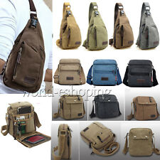 Hot Mens Vintage Canvas Travel Backpack Backpack Satchel Messengers Shoulder Bag