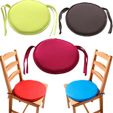 Seat Pad Indoor Tie On Patio Office Chair Cushion Round Chair Cushion Dining