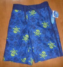 Boys Wave Zone SKULLS SWIM TRUNKS board shorts SIZE 4/5 6/7 16/18 swimming suit