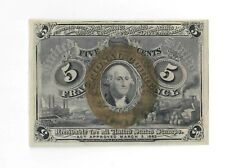 1863 US Civil War Fractional Currency, 5 Cents