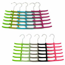 Suede Color Belt Necktie Scarf Muffler Tie Hanger Rack Holder Closet Organizer