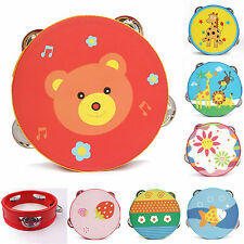 Animal Handbells Developmental Toy Bed Bells Kids Baby Soft Toys Rattle Lovely F