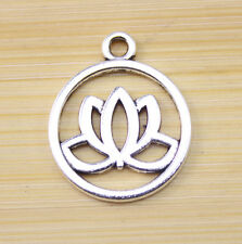 20/40/100 pcs wholesale:Very beautiful Tibet silver charm pendant  20 mm