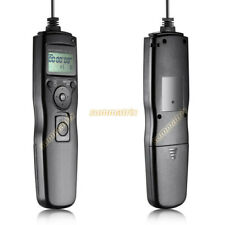 Timer Shutter Release Remote Control f Canon,Nikon,Olympus,Sony w/ connect cable