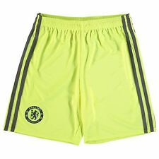 Adidas Chelsea FC Home Goalkeeper Shorts 2016 2017 Juniors Football Soccer Short