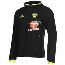 Adidas Chelsea FC Pre Match Jacket Mens Football Soccer Tracksuit Track Top