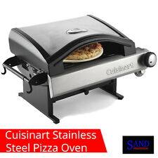 Cuisinart CPO-600 Alfrescamore Outdoor Stainless Steel Pizza Oven with Push Turn
