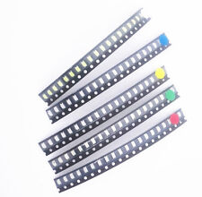 50/100 PCS 1206 SMD SMT LED Red Green Blue Yellow White Light Super Bright LED