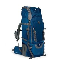 Internal Frame Pack Hiking Backpack Camping Outdoor High Sierra Blue Adventure