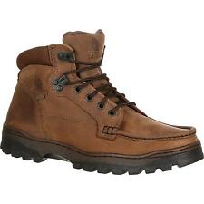 ROCKY Men's Outback Gore-Tex Waterproof Lace-Up Brown Round Toe Hiker Boots 8723