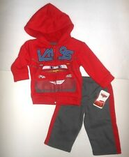 Disney Cars Infant  Boys 2 Piece Jogging Outfit Sizes-12M NWT