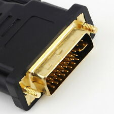 Sale DVI Male to HDMI Female adapter Gold-Plated NEW M F Converter For HDTV LCD