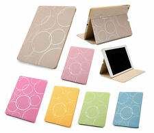 KAMI Matte Leather Smart Stand Case Magnetic Cover for Apple iPad 2 3 4 Mini Air
