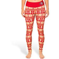 Klew Women's San Francisco 49ers Aztec Print Leggings