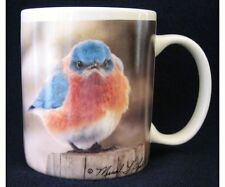 MAD BLUEBIRD MUGS 11oz 15oz Ceramic & Thermal Plastic Check out the eyes