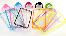 "10pcs Clear Back Hard Cover Cases + 10pcs ""U"" Stands For Apple iPhone 6 6S Plus"