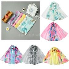 Fashion Lady Womens Wraps Shawl Stole Pashmina Scarves Long Vintage Scarf Q9V7