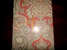 New Ralph Lauren Ashbourne Paisley Camel Rust Olive Tablecloth