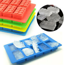 Best Chocolate Jelly Mold Brick Shaped Ice Cube Tray DIY Mould