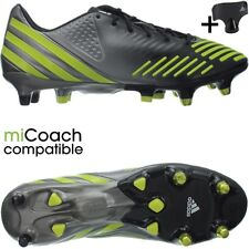 Adidas Predator LZ XTRX SG professional men's soccer cleats black/yellow NEW