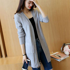 new Spring summer Korean fashion elegant shitsuke  Knitting cardigan coat
