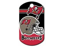 Tampa Bay Buccaneers NFL Custom Engraved Dog ID Tag - Military Style