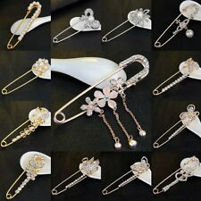 Wedding Bridal Engagement Brooch Pin Flower Butterfly Crystal Pearl Bouquet New