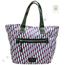 Marc By Marc Jacobs Paris Blue Kiss Multi Large Canvas Tote #M0008317 $225