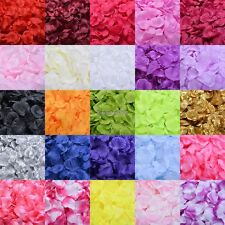 100pcs Flowers Silk Rose Petals Wedding Party Table Confetti Decoration DIY ED