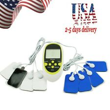 Digital Therapy Machine Pulse Full Body Acupuncture Massager 8 Pads From USA!!