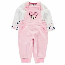 Kids Romper Sleep Suit Character Disney Dungaree Set Baby New